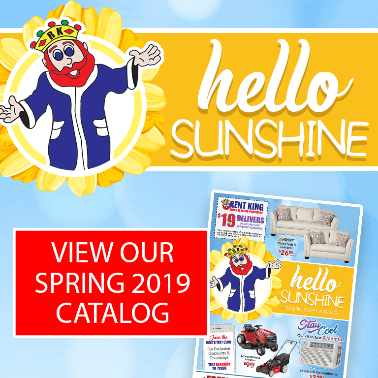 Rent King - View Our Spring 2019 Ad
